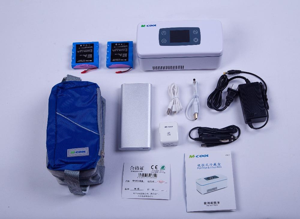 Mini Kühlschrank Für Das Auto : M cool heißer kalten eisbeutel kühlbox für insulin mini
