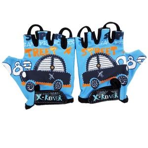 Gloves Fingerless Riding Cycling Child Kids Monkey Bars Half Finger Running Bike Running Sports Breathable Boy Girls Gloves