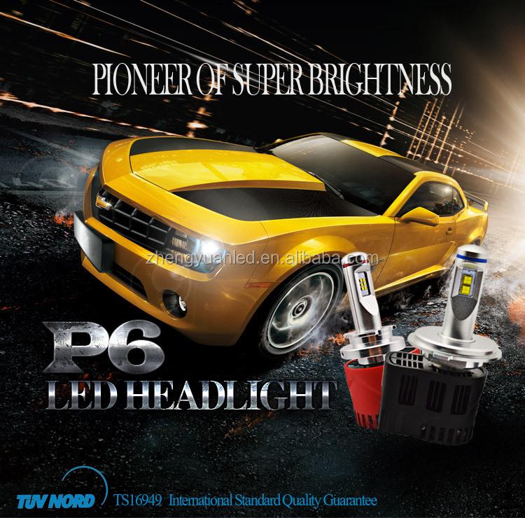 Zy 2015 Manufacturer P6 Brand New 9000lm/set H7 45w Led Car Light ...