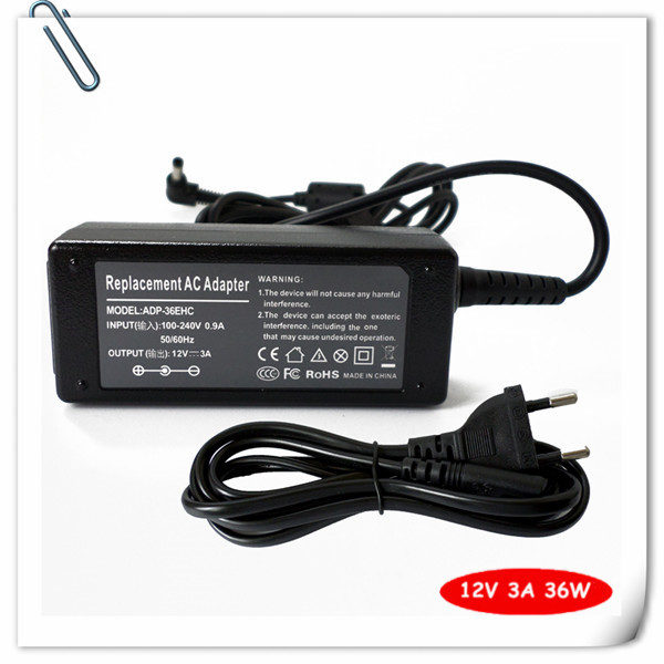 36W Laptop AC Adapter Charger for Asus Eee PC 900A 900SD 900HD 904HD 904HA 904HG Notebook