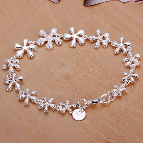 H156 925 delicate silver bracelet, 925 delicate silver fashion jewelry ...