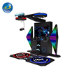 Young people favorite 9d virtual reality product dance music machine with popular game beat saber