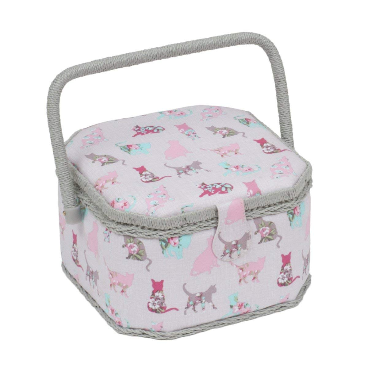 Hobby Gift Cactus Hoedown Sewing Basket 23 x 36 x 36cm d//w//h