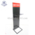 Metal floor stand pegboad hanging display stand