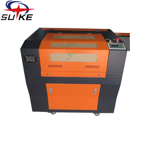 80W 6040 leather jewelry laser Co2 engraving machine with FDA CE