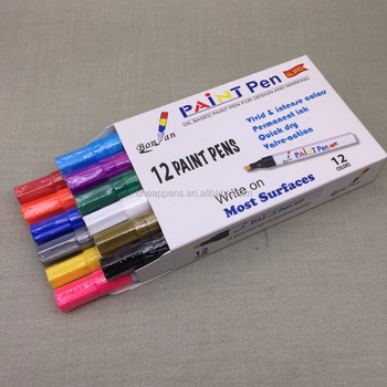 Multifunction use Oil based ink paint marker permanent ink marker, sunlight & water resistant