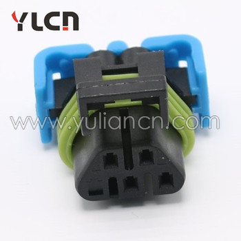 Pa66 5 Pin Waterproof Female Auto Electric Wire Harness Connectors Automotive Housing Saket Plug