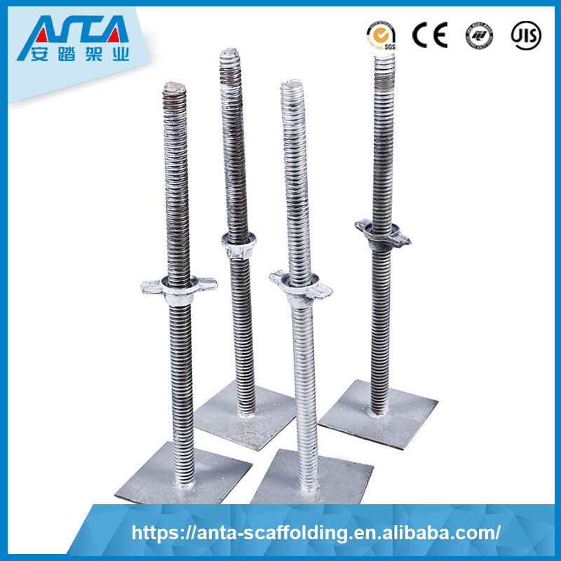 hot sale & high quality galvanized scaffolding adjustable base jack new china products for sale