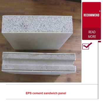 Precast Concrete Eps Fireproof Thermanl Insulation Foam