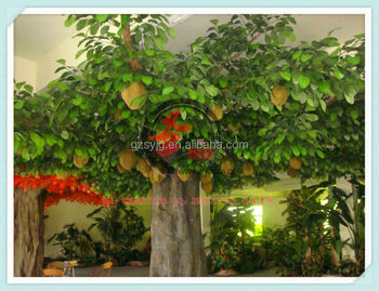 Sy15 Artificial Durian Tree / Artificial Fresh Fruit Tree / Fake Durian  Plant For Coffe Shop Decoration - Buy Tropical Fruit Trees,Artificial Fruit