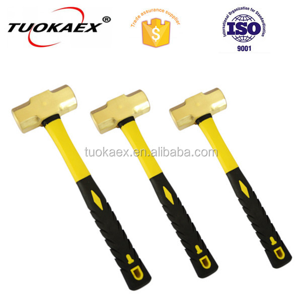 Anti spark brass copper Al-Br sledge hammer manufacturer non sparking hand tools