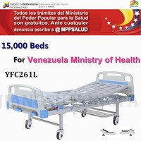 YFC261L Top quality bottom price hospital care manual crank patient bed hospital manual bed