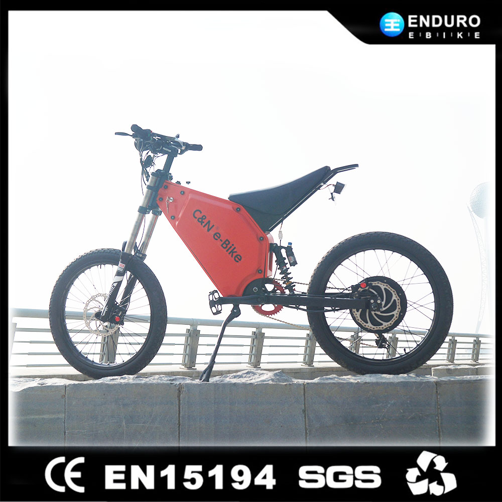 New Model 72V 8000W Motorcycle Full Suspension Electric Mountain Bike