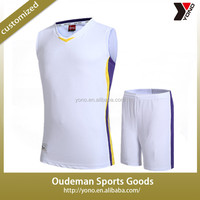Customize basketball jersey online sublimated best quality training basketball uniform design