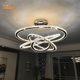 Modern decorative DIY light shape crystal chandelier pendant light