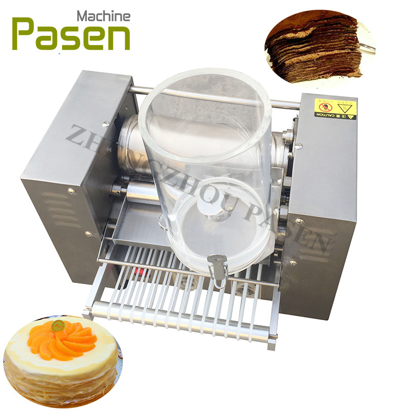 Automatic cake making machine / Crepe making machinery / Crepe machine for sale