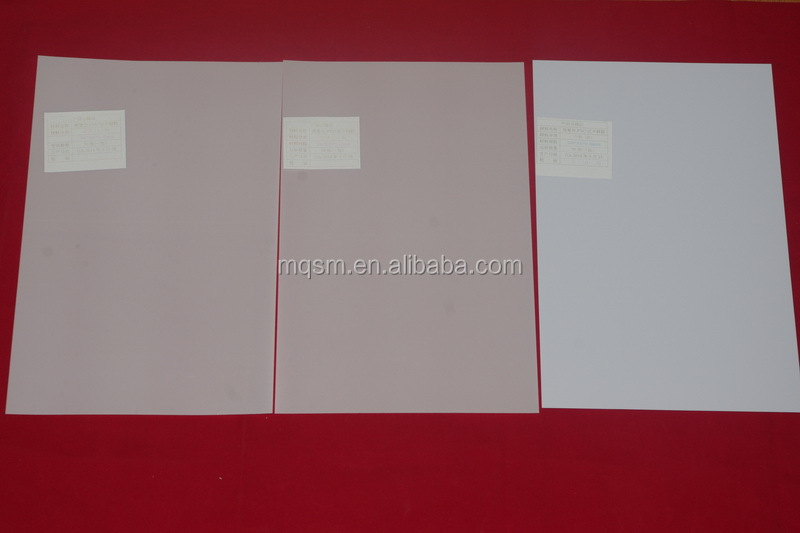 Meiqing A4 Pvc Id White Card /white No-laminated Inkjet Card ...