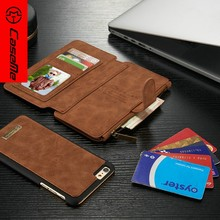 Top quality card slot for iphone 6 case leather, for iphone 6 case 4.7 inch