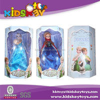 Frozen 11-inch frozen toys elsa doll frozen doll anna doll frozen toys with Electric Universal Light and Sound