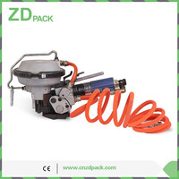KZ-19 Pneumatic Combination Tension and Seal Strapping Machine