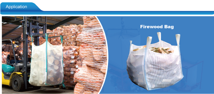 wholesale Ventilated Breathable big mesh firewood bags potato bag
