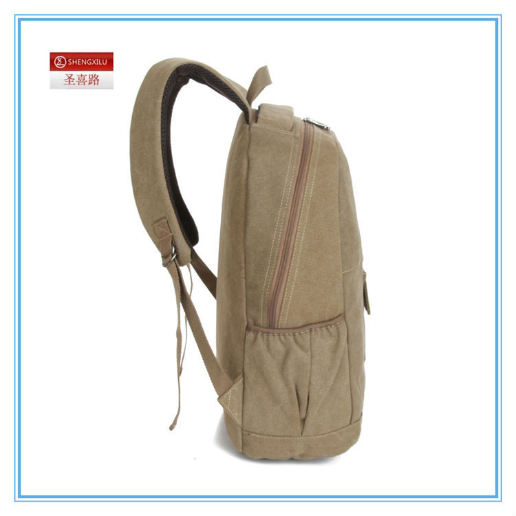 Wholesale Best sales canvas school bags university buy travel ...