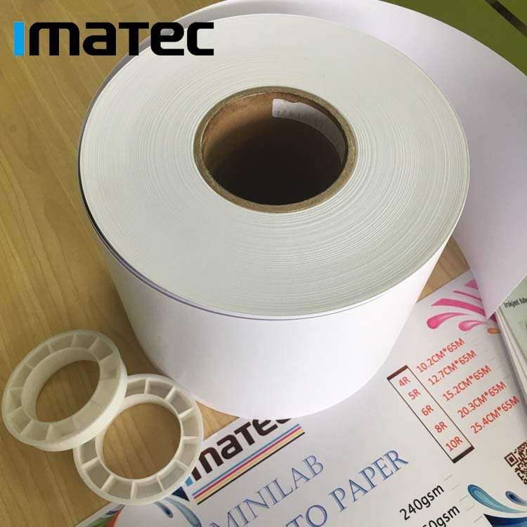 "Professional 4""6""8"" Fuji Color Roll Paper Digital Printing Paper for Minilab Frontier DX100"