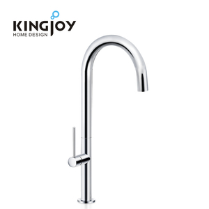 High quality sanitary accessory aerator tap chrome water mixer cupc brass single lever sink kitchen faucet