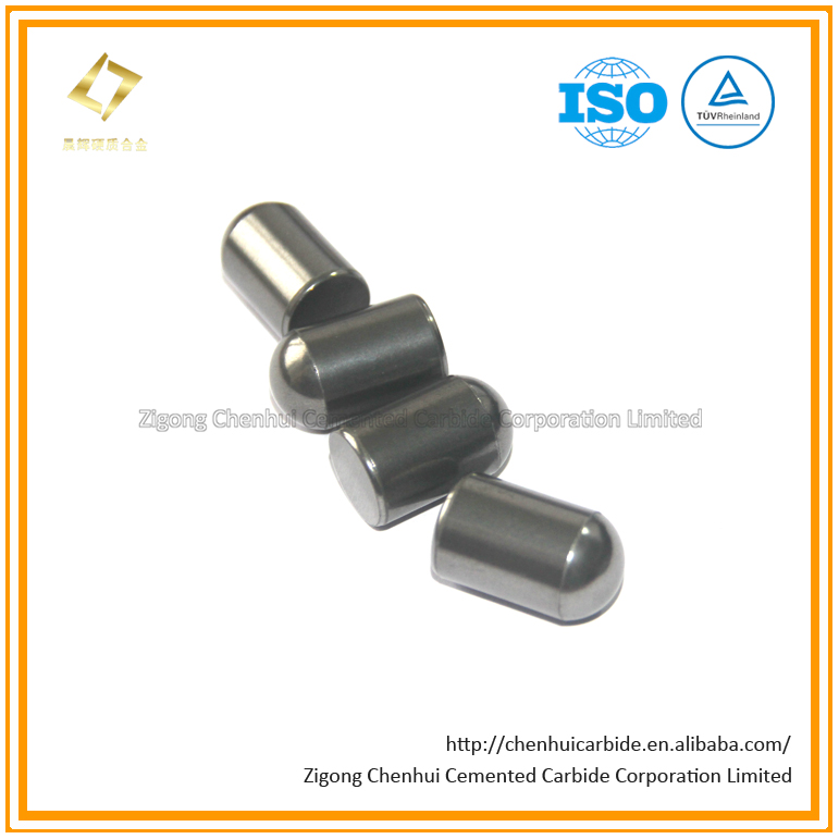 Ground Tungsten Carbide Buttons for Mining and Road Working