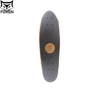 High Quality 100% Canadian Maple Blank Skateboard Deck Bamboo Longboard Cruiser Board Skateboard For Sale
