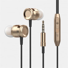 Hot Sale High Quality Metal Quality 3.5mm Earphone Headphone,sport wired headphone for mobile phone