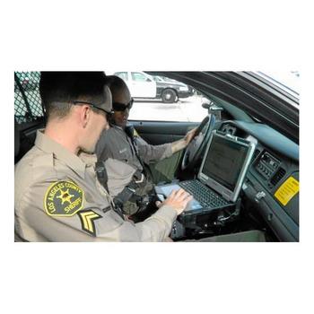 polizei laptop kamera kfz halterung notebook tablet halter. Black Bedroom Furniture Sets. Home Design Ideas