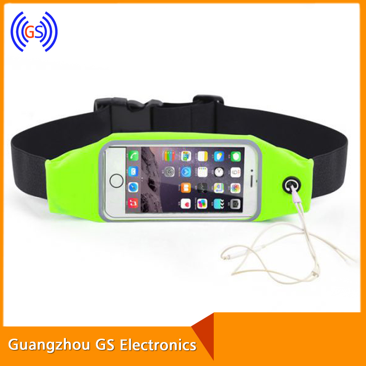 Travel outdoor running bag running sports waist pack Jogging Belt Pouch for Mobile Phone