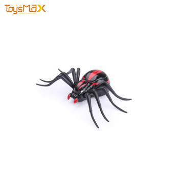Kids Rc Car Toy High Tech Intelligent Spider Robot Infrared Black RC Spider