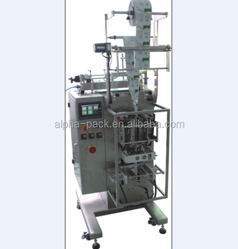 Powder Liquid Granule 3-side or 4-side sachet seal packing machine
