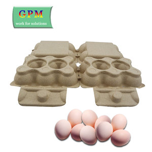 High quality low price molded pulp egg carton factory wholesale