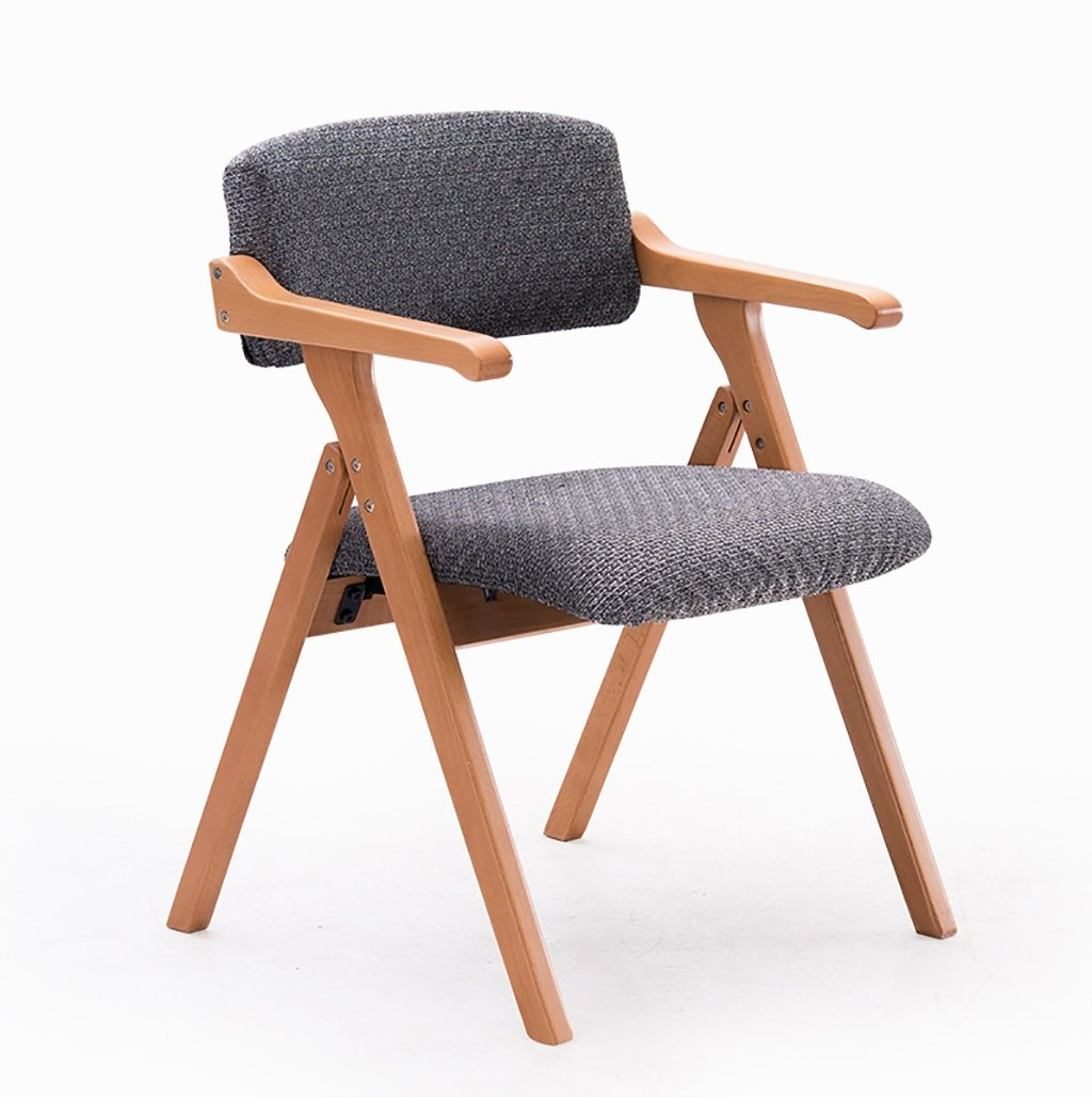 foldupchairs Nordic minimalist creative with armrests folding chairs desk chairs conference chairs leisure chair Folding Chairs (Color : 1)