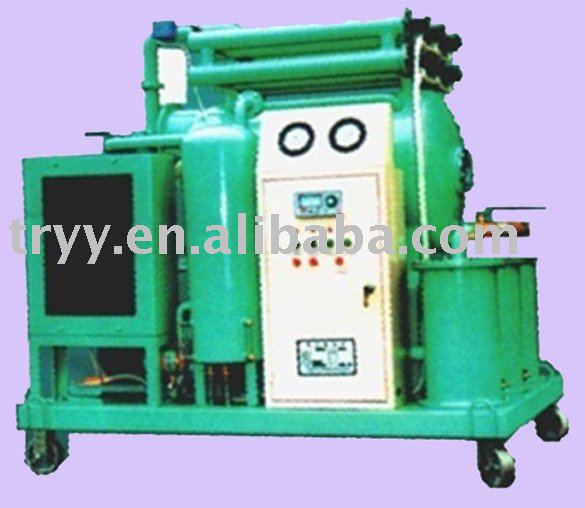 ZL-*Q series engine oil regeneration vacuum oil purifier to filter turbine oil