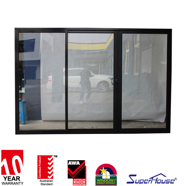 Superhouse Australia Standard AS2047 Fireproof Triple Track Sliding Patio  Door