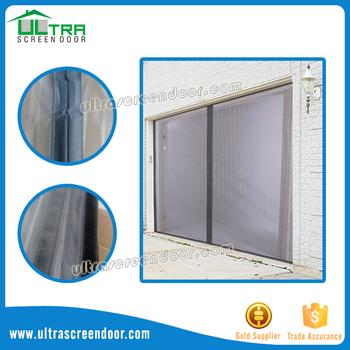 Micro mesh magnetic screen door 36 screens for sliding for Magnetic sliding screen door