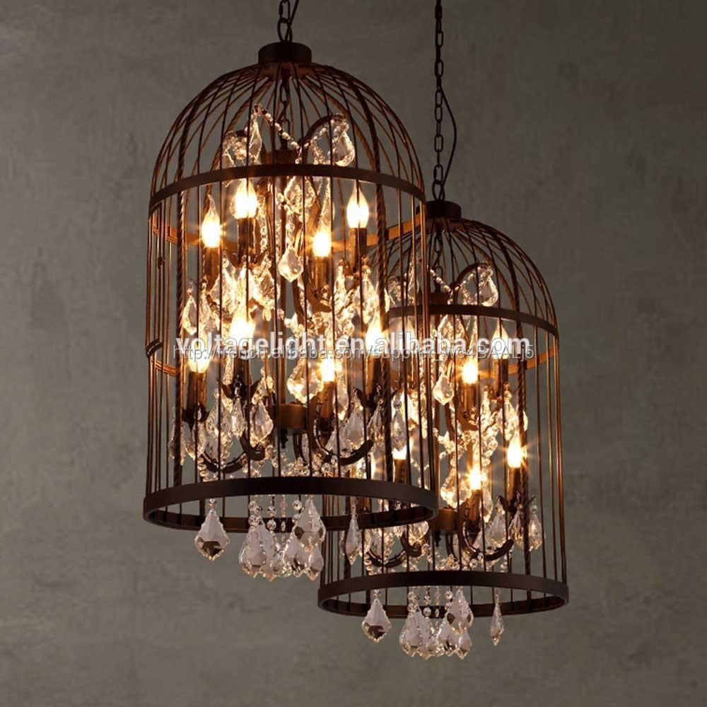 Nouvelle Lampe Suspendue avec Cage d\'Oiseau Décorative-Lustre-ID de ...