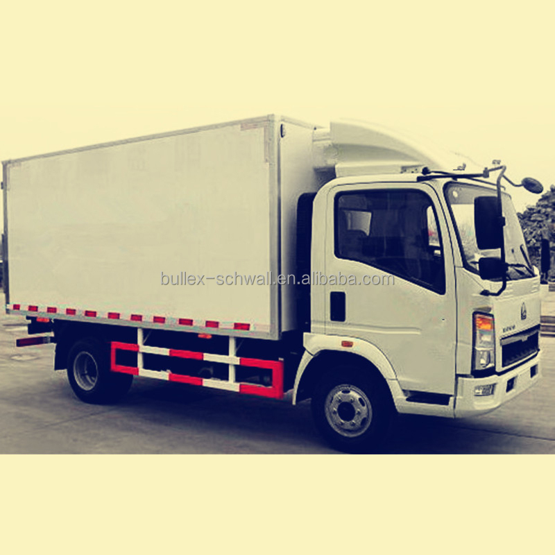 Refrigerated Truck Body / Cooling Box Truck / Refrigerated Cold Room Van Truck