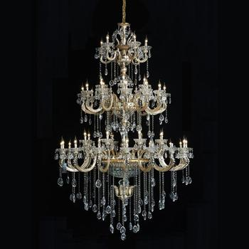 2019 Hongkong Nwe Design Top S K9 Crystal Capiz Shell Chandelier Candle Lighting Made In China Mdg5113 48