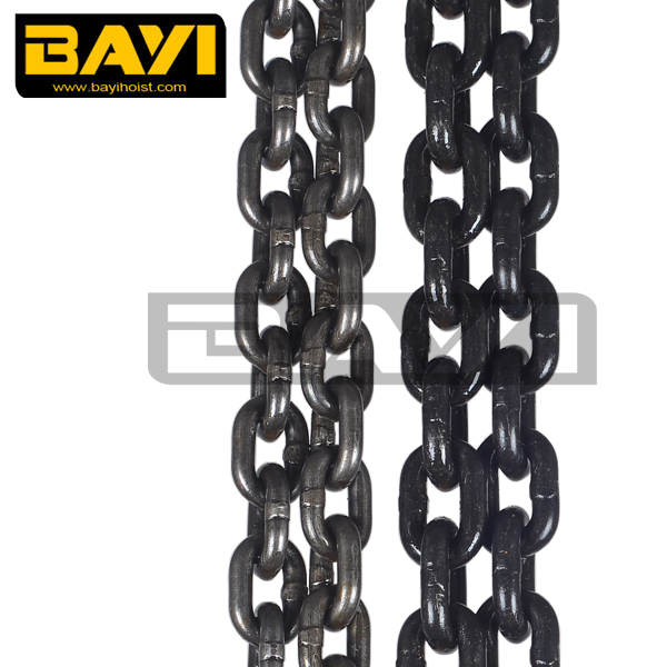 round steel link chain 13mm load chain grade 80 alloy steel chain
