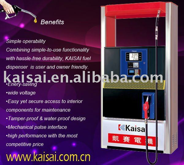 Luxurious Type KCM-SK100 A/K112Z gasoline dispensers with Smart Card reader