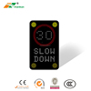 2018 Hot Sale Outdoor Customize Digital Safety Traffic Radar Speed Activates Sign