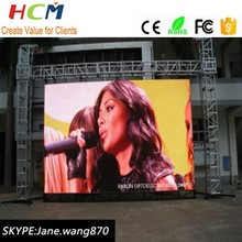 Rental led stage use outdoor led big screen p6/events led rental display