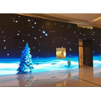 auditorium led video display screen p2 tv hd video wall panel christmas decorations - Christmas Tv Decoration