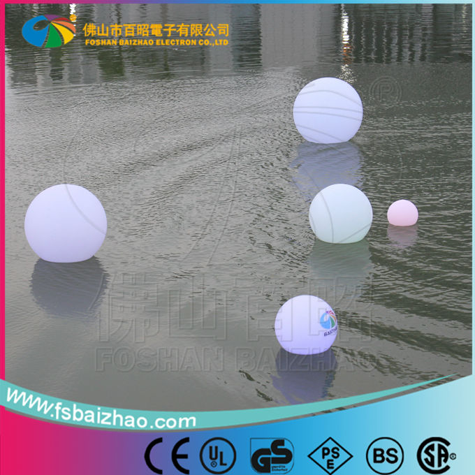 16 colors waterproof IP65 rechargable RGB LED ball dmx for indoor and outdoor use