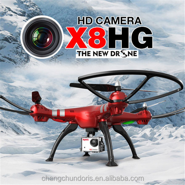 Hot selling Original Syma X8HG Headless wifi 2.4G 4CH RC drone with hd camera